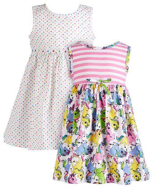 Blueberi Boulevard Baby Girls 2-Pk. Printed Dresses