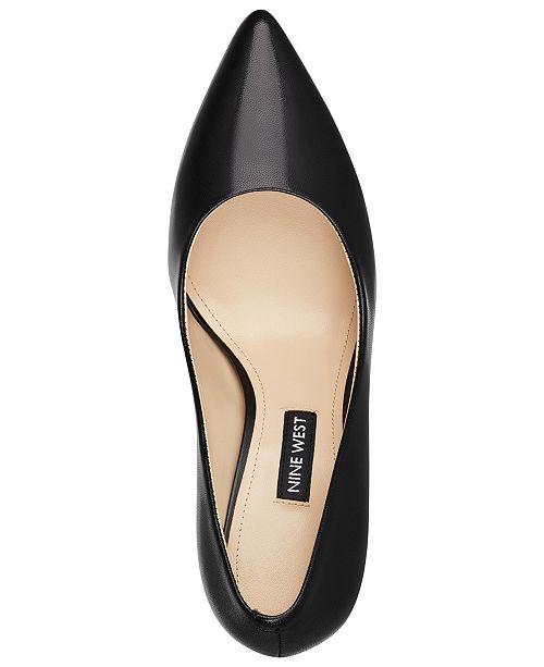 8ac6aa551e2 Nine West Flax Pointed Toe Pumps   Reviews - Pumps - Shoes - Macy s