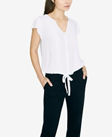 Sanctuary Boheme Tie-Front Top