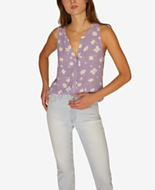 Sanctuary Craft Sleeveless Printed Top