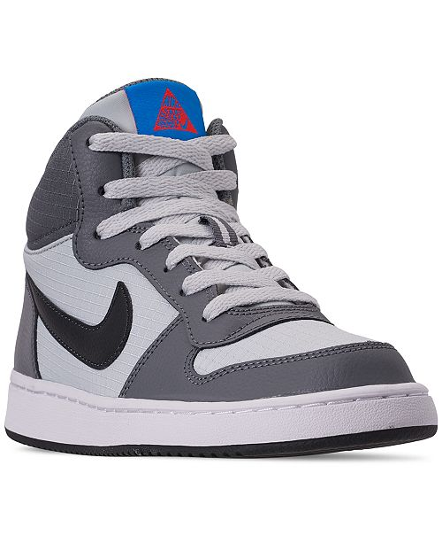 626381e33df Nike. Boys  Court Borough Mid Premium Casual Sneakers from Finish Line. Be  the first to Write a Review.  65.00
