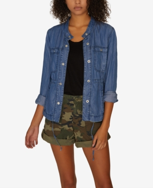 Sanctuary Jackets HERO LIGHTWEIGHT DENIM JACKET