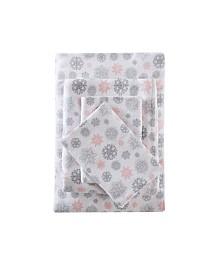 True North by Sleep Philosophy 3-Pc. Cotton Flannel Twin Sheet Set