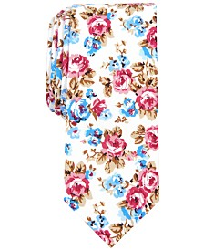 Bar III Men's Almon Floral Tie, Created for Macy's