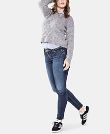 Silver Jeans Co. Plus Size Suki Super-Skinny Jeans