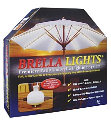 Blue Star Group BRELLA LIGHTS - Patio Umbrella Lighting Systems With Power Pods