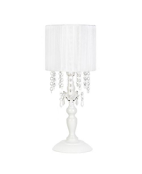 Sleeping Partner Tadpoles Chandelier Shaded Table Lamp