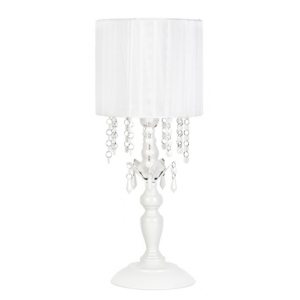 Tadpoles Chandelier Shaded Table Lamp