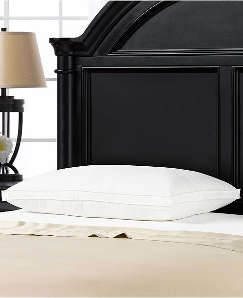 Ella Jayne Soft Plush Gusseted Soft Gel Filled Stomach Sleeper Pillow - King