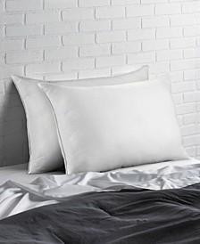 Overstuffed Plush Allergy Resistant Gel Filled Side/Back Sleeper Pillow - Set of Two - King