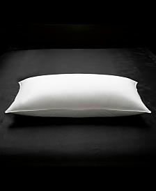 Soft Luxurious White Down 100% Certified RDS Stomach Sleeper Pillow - King