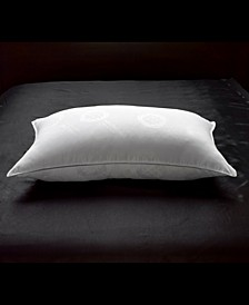 Allergy Free Soft White Down Stomach Sleeper Pillow with MicronOne Technology - Standard