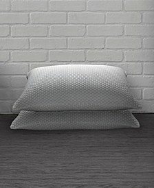 2 Pack Cool N' Comfort Gel Fiber Pillow with CoolMax Technology - Standard