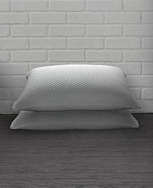 2 Pack Cool N' Comfort Gel Fiber Pillow with CoolMax Technology - Standard