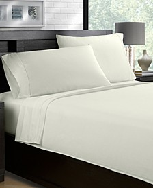 100% Cotton Sateen 500 Thread Count 4-Piece Sheet Set - Full