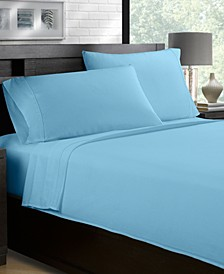 100% Cotton Sateen 500 Thread Count 4-Piece Sheet Set - King