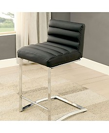Benzara Contemporary Counter Height Chair, Set of 2