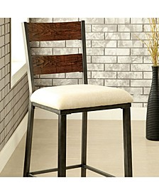 Industrial Counter Height Chair, Set of 2