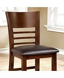 Benzara Transitional Counter High Chair, Set of 2