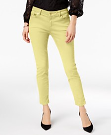 MICHAEL Michael Kors Petite Izzy Skinny Ankle Jeans, Created for Macy's