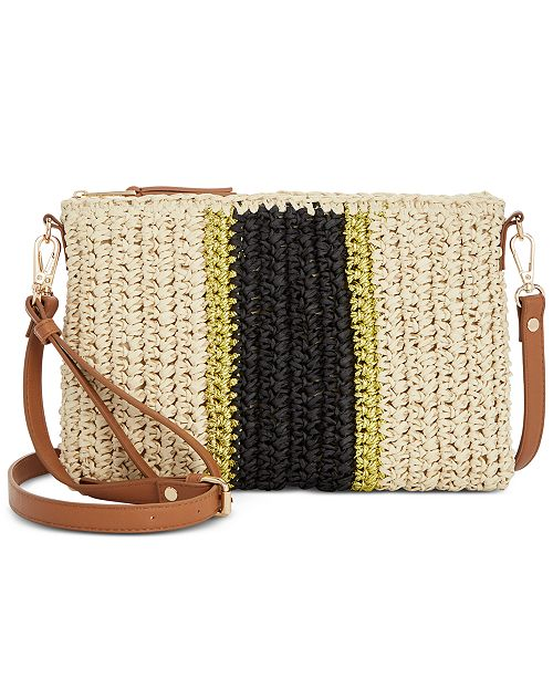 6a36834161c5 ... INC International Concepts I.N.C. Tropical Straw Crossbody