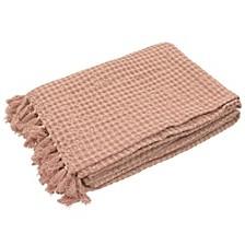 "Cotton 50"" x 60"" Stonewash Throw Blankets"
