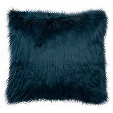 "Sheepskin 22"" Square Faux Fur Decorative Pillows"
