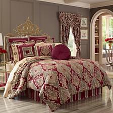 J Queen Crimson Bedding Collection