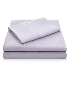 Woven Microfiber Split Queen Sheet Set