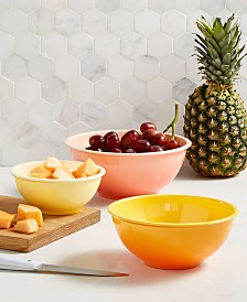 Martha Stewart Collection 3-Pc. Ombré Bowl Set, Created for Macy's