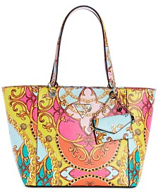 28f7e5666c GUESS Kamryn Tote With Snap Pouch