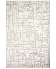 """Downtown HG355 Ivory 5'6"""" x 8'6"""" Area Rug"""