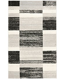 Safavieh Retro Black and Light Gray 4' x 6' Area Rug