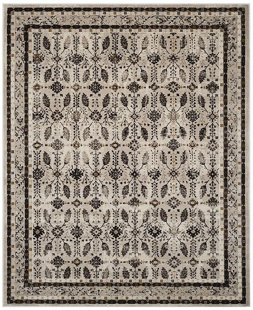 "Safavieh Serenity Creme and Brown 8'6"" x 12' Area Rug"