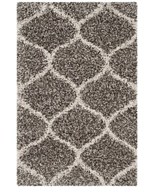 "Hudson Gray and Ivory 2'3"" x 3'9"" Area Rug"