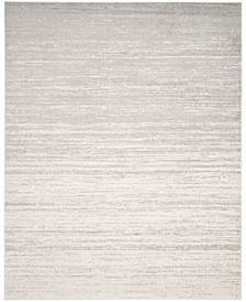 Adirondack Ivory and Silver 9' x 12' Area Rug