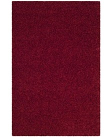 """Athens Red 5'1"""" x 7'6"""" Area Rug"""
