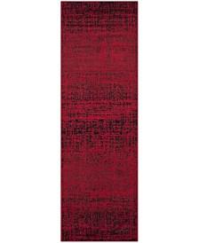 "Safavieh Adirondack Red and Black 2'6"" x 6' Runner Area Rug"