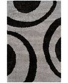 Safavieh Portofino Gray and Black 8' x 10' Area Rug