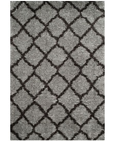 Safavieh Indie Gray and Dark Gray 4' x 6' Area Rug