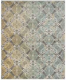 Evoke Gray and Ivory 11' x 15' Area Rug
