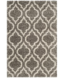 Hudson Gray and Ivory 4' x 6' Area Rug