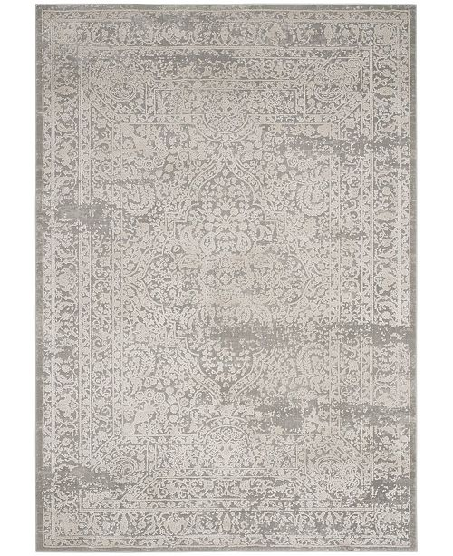 Safavieh Princeton Gray and Beige 4' x 6' Area Rug