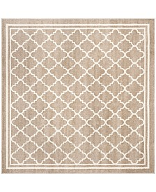 Safavieh Amherst Wheat and Beige 5' x 5' Square Area Rug