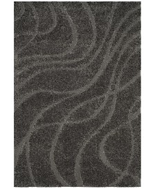 Safavieh Shag Gray 4' x 6' Area Rug