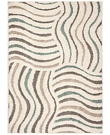 Santorini Cream and Multi 2' x 8' Runner Area Rug