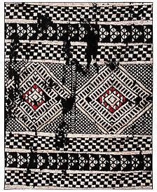 Safavieh Adirondack Black and Light Gray 6' x 9' Area Rug