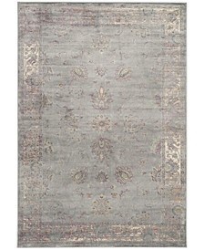 Vintage Gray and Multi 10' x 14' Area Rug