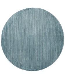 """Safavieh Vision Aqua 6'7"""" x 6'7"""" Round Area Rug"""
