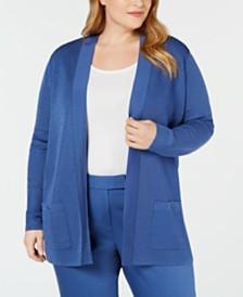 Anne Klein Plus Size Malibu Cardigan